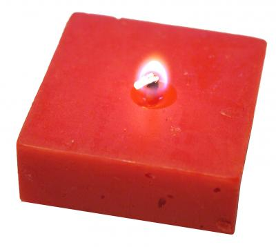 Download free red light candle flame image