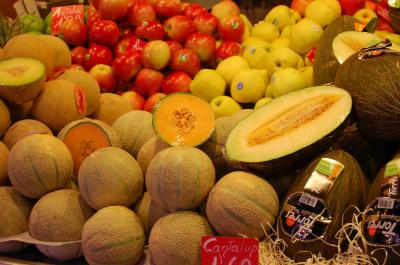 Download free fruit food apple muskmelon image