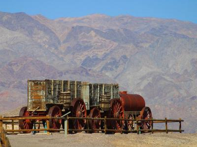 Download free wagon far-west train charette image