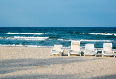 Download free sea beach sand chair image
