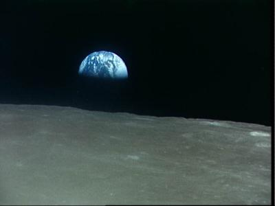 Download free space earth moon image