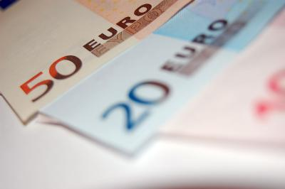 Download free euro bill money image