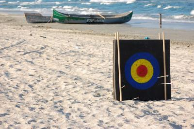 Download free sea beach target sand boat image