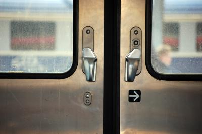 Download free train tram door image