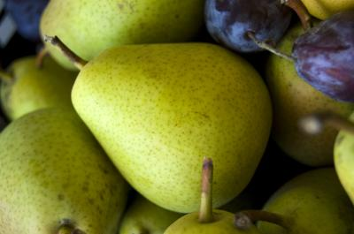 Download free fruit yellow pear image