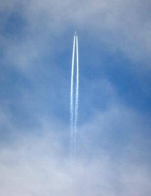 Download free blue plane sky image