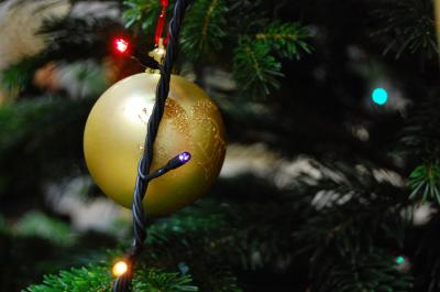 Download free light ball fir christmas image