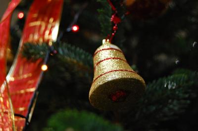 Download free bell spine christmas image